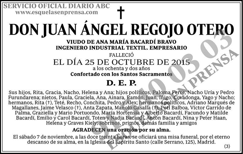 Juan Ángel Regojo Otero